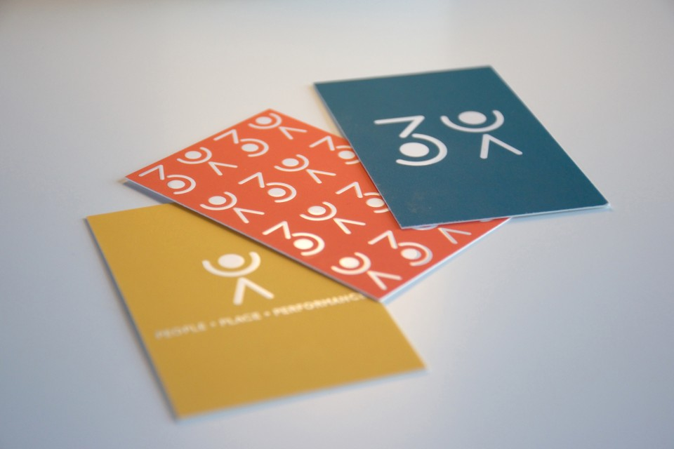 Morgane Guedj graphic designer freelance Perth Western australia branding logo business card 3sixty tony papotto