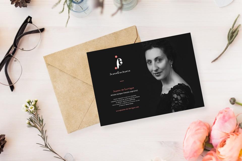 Morgane Guedj graphic designer freelance Perth Western Australia jeannenchante jeanne de lartigue logo branding